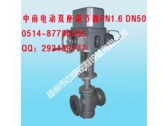 ZAZN-64K DN200中南电动双座调节阀