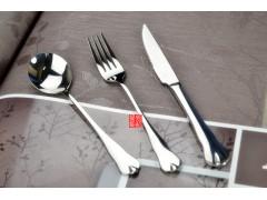 水滴型不锈钢刀叉勺餐具 酒店餐具套