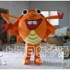 供应卡通人偶动物模型广告道具螃蟹