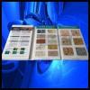 多彩漆样板册、水包水多彩漆色卡