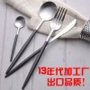 葡萄牙Cutipol不锈钢刀叉勺 经典黑柄银色系列 批量订货