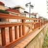 湖南水性木纹漆市场 公园护栏棕