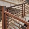 环保水性涂料市场 楼梯扶手仿木