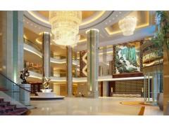 北京度假酒店软装设计之酒店漆画制