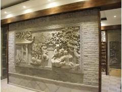 酒店陈设艺术品设计——酒店砖雕艺