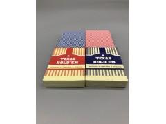 TEXAS德州塑料扑克牌现货批发可定制