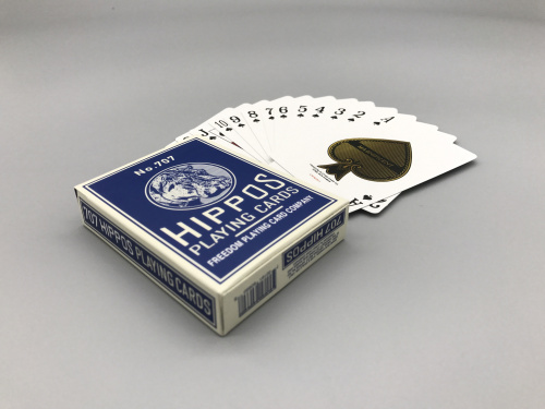 出口外贸扑克牌,黑芯纸制作