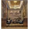 酒店艺术品设计之手绘壁纸
