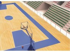 四川体育硅PU球场建设