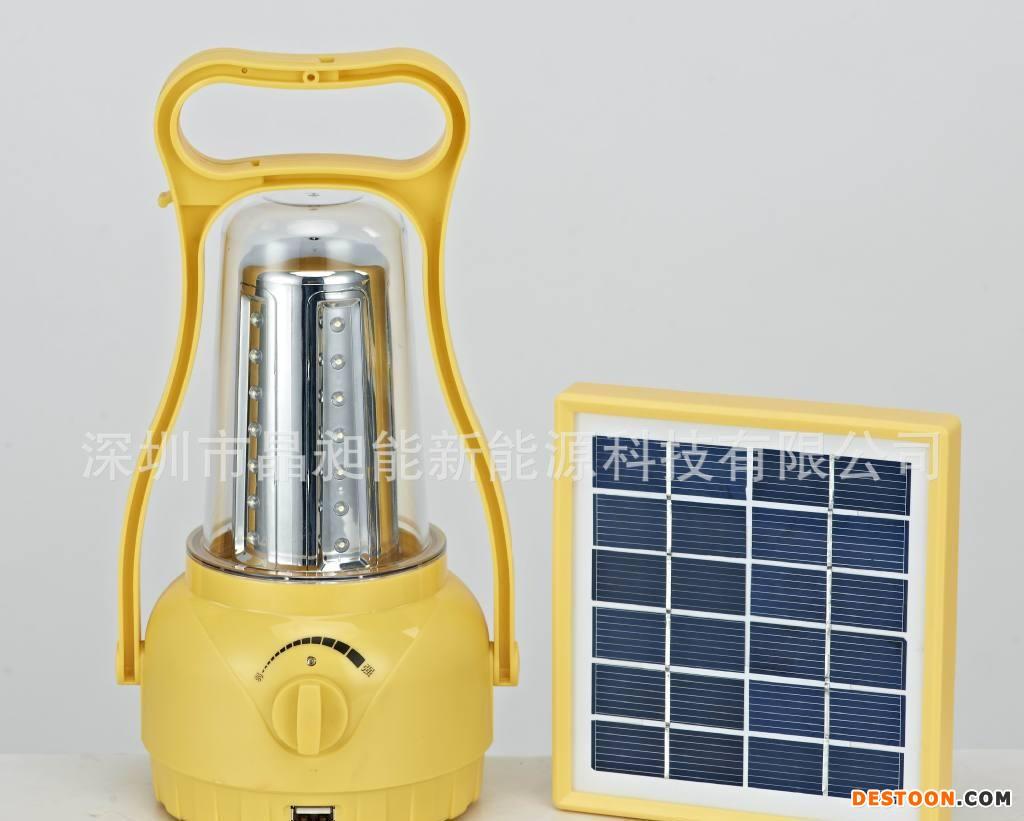 LED太阳能手提灯 太阳能充气灯 太阳能草坪灯 太阳能节能灯