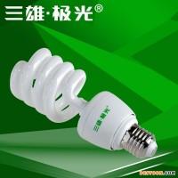三雄极光 18W 半螺旋 纯三基色E27 6500K政府补贴节能灯PAK081846