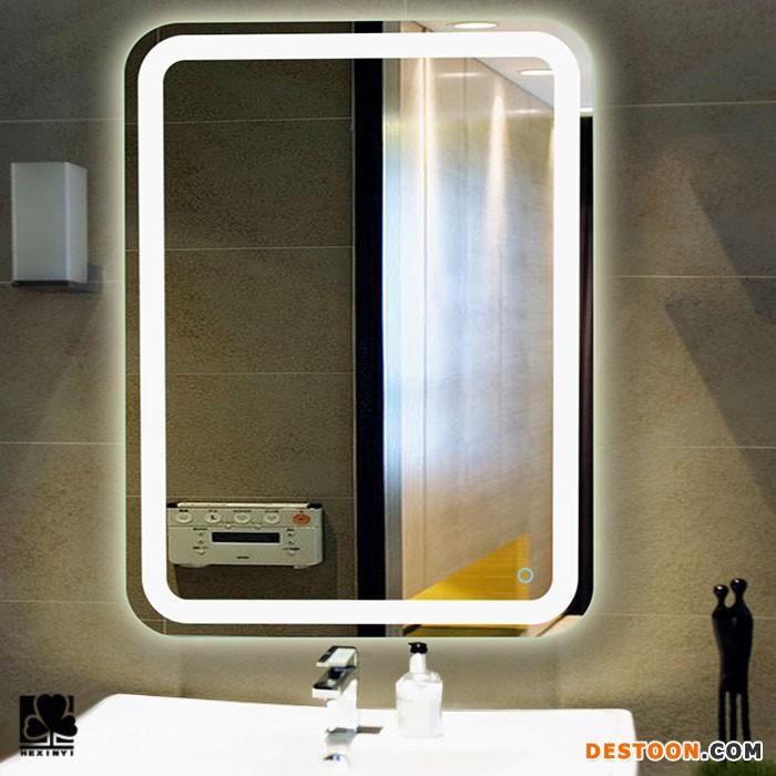 LED照明节能灯 浴室镜LED灯镜浴室防雾可定制蓝牙镜触控开关50 触摸屏