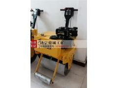 天津手扶式单轮柴油压路机 沥青路面