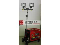 柴油发电多功能自动升降工程照明车