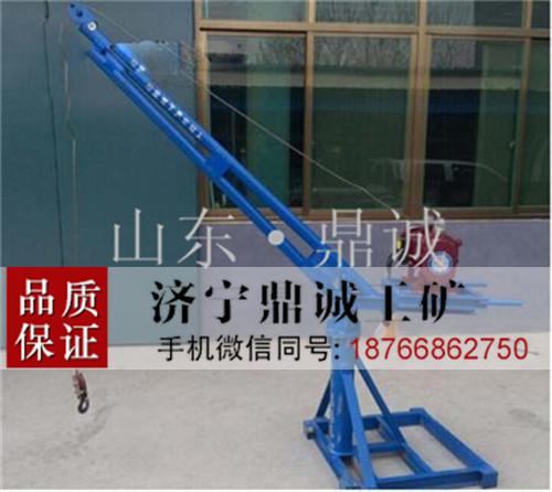 室内外多用途建筑吊运机 楼房家用装修起吊机 电动小吊机