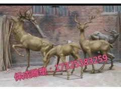 铜雕母子鹿招财鹿广场大型铸铜雕塑