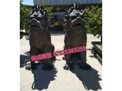 铸铜貔貅大型铜工艺品镇宅招财铜雕