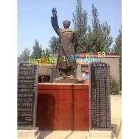 毛主席毛泽东竹筒雕像定制校园学校名人肖像雕塑制作