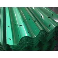 乡村公路防护栏价格 镀锌双波波形护栏板 专业的厂家生产