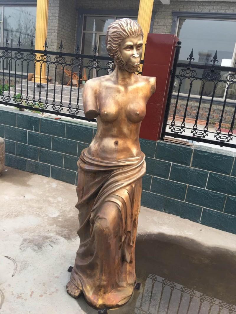 西方人物雕塑古希腊人物雕塑欧式女神摆件大卫维纳斯铸铜雕塑