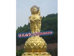 铜观音摆件观音菩萨佛像纯铜摆件客
