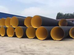唐山曹妃甸HDPE钢带增强波纹管 材质轻承压成力强
