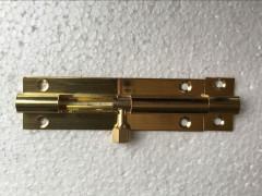 古铜色插销做工精细,多孔牢固安全性更高