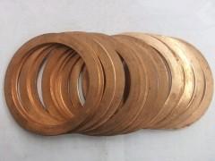 高温紫铜密封垫片,加工方便效果突出