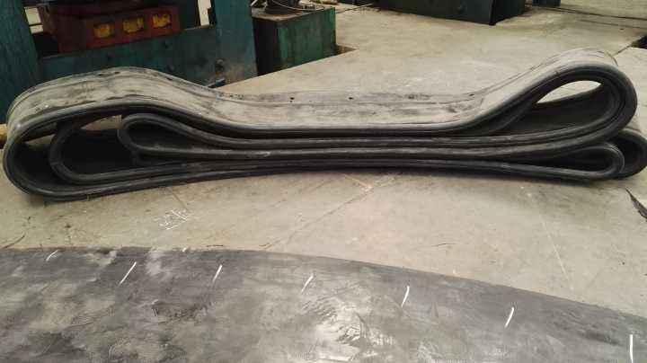 圆型帘布橡胶板地铁口专用止水带