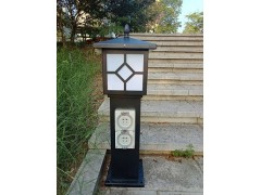 HW-201 恋途 插座柱 草坪灯柱 庭院