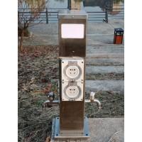 HW-17  恋途 水电桩 营地桩 岸电箱 水电箱 水电柜