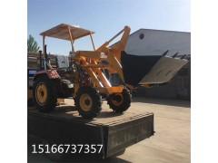 保定工程专用装载机小型自卸车工作
