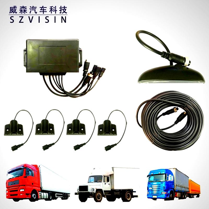 大车倒车雷达安装、24V倒车雷达使用、货车倒车雷达价格