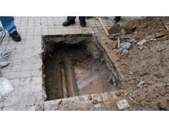 苏州市金阊区石路街道管道开挖