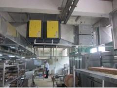 餐饮厨房抽排油烟净化器通风系统排风量设计原则