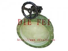 蜗轮玻璃钢蝶阀20