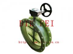 蜗轮玻璃钢蝶阀23