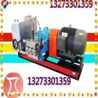 电动试压泵电动机与减速箱由两件半联轴器联接