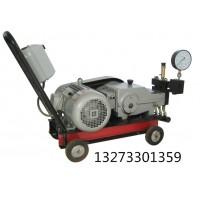 贵州电动试压泵试压件升到一定压力后禁止捶击