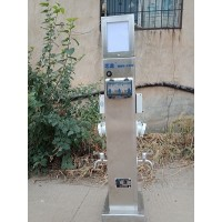 HW-23 恋途 智能水电桩 水电箱 水电柱 营地桩
