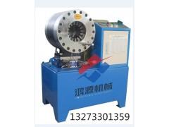 锁管机比其他液压成型的扣压机效果