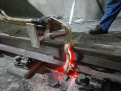 火车轨道焊缝焊缝正火机