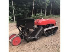 履带式旋耕机施肥机在农耕场上大显