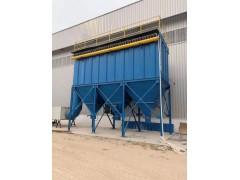 3吨锅炉配120袋单机布袋除尘器