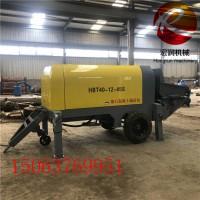 30型混凝土输送泵 细石输送泵 卧式液压二次构造泵
