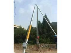 高质量立杆机参数 铝合金三角抱杆厂