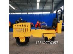 双钢轮压路机驾驶型柴油压土机压实