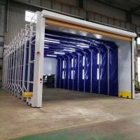 环保型移动伸缩喷漆房 10米以上