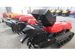 田园自走式耕地机遥控多功能施肥机