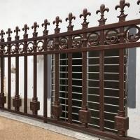 别墅栏杆 围栏 防护栏 铝艺围栏